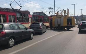 Zerwana trakcja w centrum Gdańska