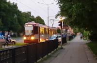 Wstrzymany ruch tramwajów  na ...