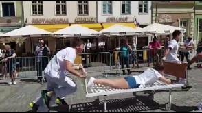 Wyścig szpitalnych łóżek na Długiej