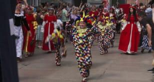 Barwna parada z okazji Święta Miasta Gdańska