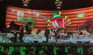 Impreza na scenie koncertu Andre Rieu