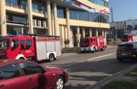 Akcja strażaków pod centrum Witawa