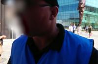 Konfrontacja z pracownikiem ochrony Forum Gdańsk