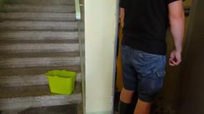 Awaria kanalizacji na Stolema na Jasieniu