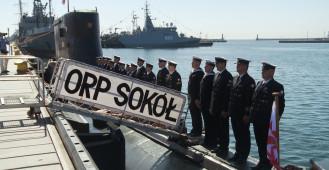Ostatnie opuszczenie bandery na ORP