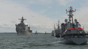 Parada morsko-lotnicza z okazji święta Marynarki Wojennej