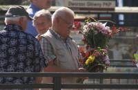 Rozdawały bukiety kwiatów w centrum Gdańska