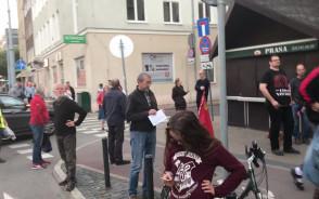 Protest pod gdańskim sądem