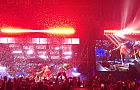 Deszcz z konfetti na koncercie Bruno Mars'a - Open'er 2018