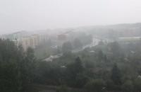 Potężna ulewa nad Witominem