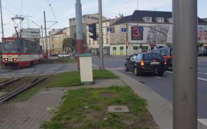 Wstrzymany ruch tramwajowy w stronę ...
