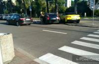 Sprzeczka kierowcy z pieszym w Gdyni