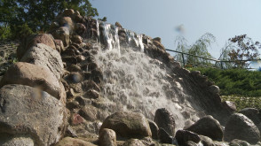 Wodospad w Zoo - najwyższy w Trójmieście