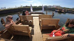 Nowa atrakcja w Gdańsku - repliki flisackich łodzi