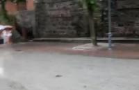 Ulewa na Monciaku w Sopocie