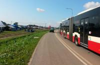 Harcerze opuszczają Wyspę Sobieszewską