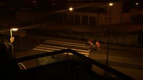 Malowanie pasów o 1 w nocy