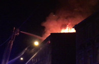 Pożar pustostanu na ulicy Zamiejskiej