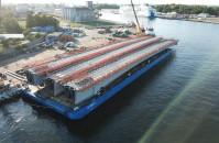 Potężny most z Mostostalu Pomorze trafił do Norwegii