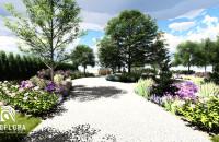 Animacja do projektu zagospodarowania terenu