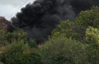 Pożar na Kolonia Ochota