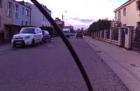 Spychanie rowerzysty z ulicy, nieuzasadnione pretensje.