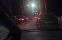 Wypadek na moście wantowym