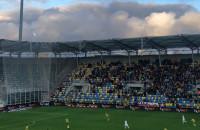 Arka Gdynia po strzeleniu 3. gola Zagłębiu Lubin