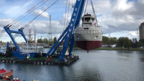 Wodowanie w Remontowa Shipbuilding