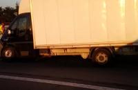 Wypadek w stronę Gdyni na wysokości Ikei