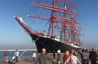 Zwiedzanie żaglowca Sedov w Gdyni