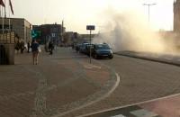 Auto na Podwalu Grodzkim już nie dymi