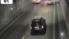 Zderzenie ciężarówki z bmw w tunelu pod Martwą Wisłą