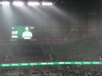 Radość po zwycięskim golu Lechia - Cracovia 1:0