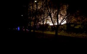 Pożar ul. Wyspiańskiego/ Wrzeszcz