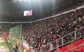 Fala na meczu Polska - Czechy
