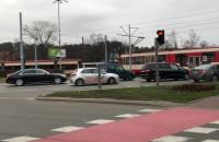 Awaria tramwaju przed Zieleniakiem