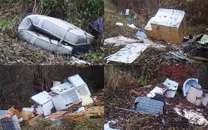 Ktoś regularnie wywozi śmieci w okolice Krępca