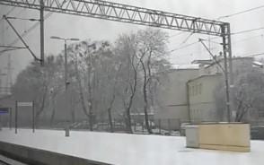 W Sopocie leży śnieg