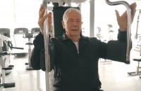 Stanisław Bała - senior na siłowni
