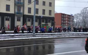 Pochód ulicami Gdańska