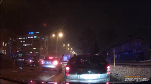 Akcja strażaków po kolizji 3 aut na Grunwaldzkiej