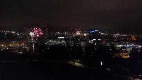 Fajerwerki z Góry Gradowej 2018/2019