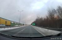 Korek na obwodnicy w stronę Gdańska od Osowej