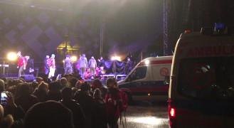Reanimacja na scenie podczas finału WOŚP