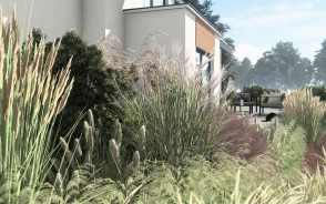 Projekt naturalistycznego ogrodu   Gdańsk Osowa   Pracownia STTYK