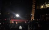 Trumna z ciałem prezydenta opuszcza ECS