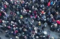 Tłumy w Gdańsku na pogrzebie Pawła Adamowicza