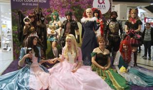 Zlot cosplayerów w Alfa Centrum