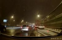Wypadek w stronę Gdańska na obwodnicy
